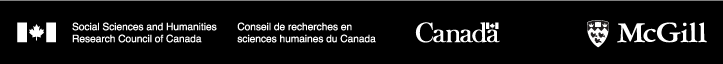 SSHRC logo + McGill logo